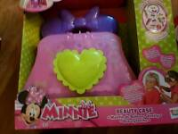 Brand new Minnie mouse beauty case