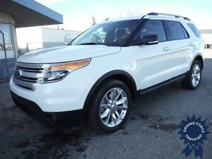 2014 Ford Explorer XLT 4WD-Tow Pkg.-Leather-Nav-7 Passenger
