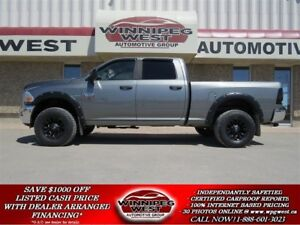 2011 Ram 2500 CUSTOM HEAVY DUTY CREW 4X4, BLUETOOTH, SHARP!!