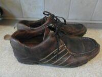 mens brown kickers size 11