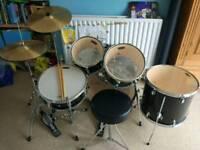 Full set drum kit (tornado)