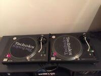 2 x Technics SL-1210MK3D SL1210M3D SL1210MK3 DJ Decks Turntable