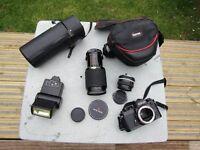 35 mm camera equipment