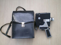Bell and Howell cine camera with case