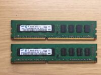 Samsung 4GB RAM (2x2GB) for PC computer