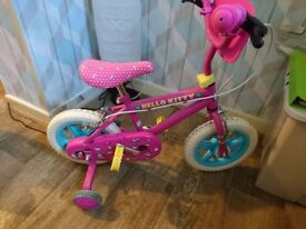 "Hello kitty 12"" bike"