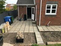 Patio paving Flags stones450x450 (30m2 available)