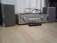 SONY AMP + SHARP SPEAKERS