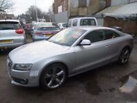 Audi A5 Quattro TDI,3 litre 2 door Coupe,4x4,full heated leather seats,Sat Nav,CD Multichanger