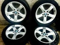 17 inch 5x120 genuine BMW 3 series F30 alloy wheels