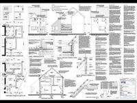 Plans prepared - building control, sketch plans etc