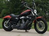 2008 Harley-Davidson XL1200N  $5,000 in Customizing  Dual Exhaus