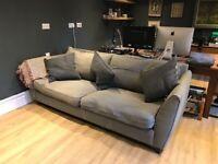 Free large 4 seater Heals sofa