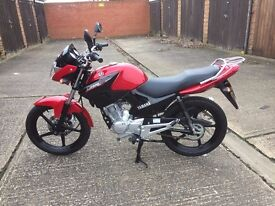 Yamaha YBR125, Perfect Condition, Low Mileage