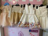 6 stunning baby party dresses 9-12 & 12-18