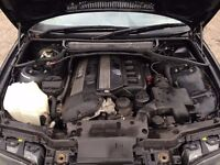 [Simmons BMW] BMW E46 3 series M54B22 Engine for breaking spares parts 2.2 320i - non runner