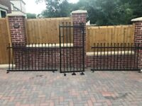 Metal Garden Gate and Metal Fence Panels