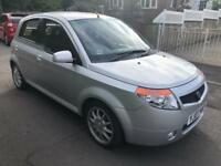 Proton Savvy 1.1 petrol 2007 07 reg silver only 55,000 miles air con cd alloys RETRO like Clio Yaris