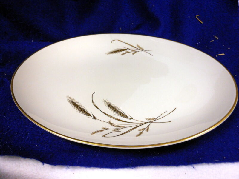 GOLDEN HARVEST FINE ARTS CHINA OVAL SERVING BOWL PLATTER 15 1/4""