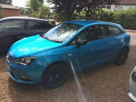65 PLATE SEAT IBIZA FR 1.2 TSI BLUE BLACK EDITION CAT D 13,000 MILES ONLY EXCELLENT CONDITION