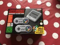 Nintendo classic mini SNES S.N.E.S