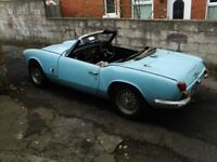 Triumph Spitfire Mk3 1968 Unfinished restoration. Most work done. Engine runs.