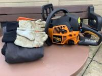 Petrol chain saw bundle