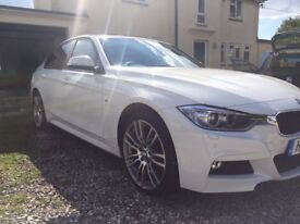 BMW 320d M Sport (xDrive) with M Sport Plus package & BMW services until 2020 - Immaculate condition