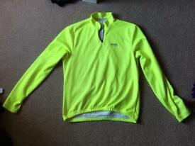 Lusso fluorescent cycling jersey XXL