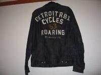 XXL-distressed Denim jacket