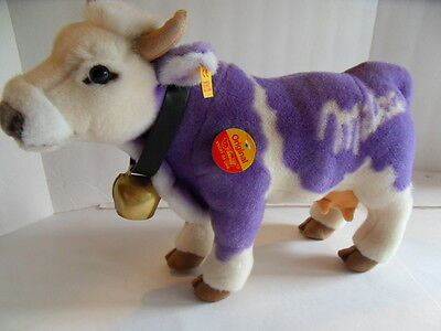 Steiff cow Milka cow all Ids made in Germany 1299