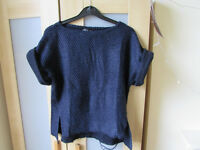 TOPSHOP blue T-shirt