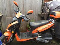 direct bike db 125t/ 2011 reg spares or repair non runner £100