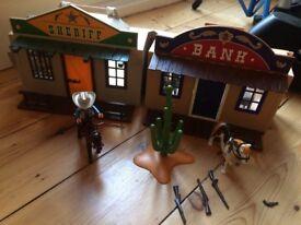 Playmobil My Take Along Western City 4398