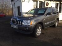 ***** GRAND CHEROKEE 3.0 CRD LIMITED / NAV *****
