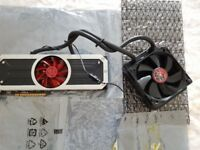 AMD Radeon R9 295x2 8gb grapchic card