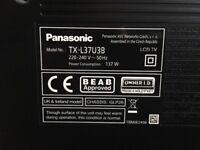 Panasonic TX-L37U3B Full HD TV for sale