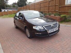 2009 vw passat 2.0 diesel saloon, black, hpi clear, genuine mileage, high line model