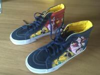 Vans Sk8 Hi Reissue The Beatles Yellow Submarine Faced shoes - uk 3