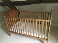 2x Lollipop Lane Oakhill Furniture Cot Beds