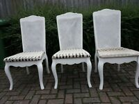Lovely chairs x 3 £5.00 each