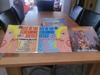 A Selection of lp records