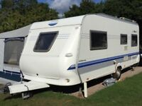 Caravan and Awning - Hobby, 5 berth plus full size awning, excellent condition
