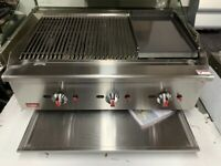 NEW GAS 90 CM FLAME PERI PERI CHICKEN BBQ KEBAB TAKE AWAY SHOP CATERING COMMERCIAL SHOP