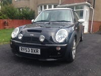 Mini Cooper S - 53 Plate - Black With White Roof - John Cooper Works Bodykit - MOT & History