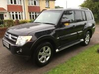 Mitsubishi shogun elegance 2008 LWB F.S.H sat nav leather fully loaded must be seen private sale.