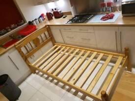 Julian Bowen Wood Single Bed Frame