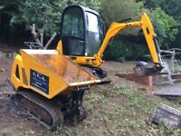 Mini / Micro digger / dumper / Whacker plate Hire - Fife, Tayside, Edinburgh