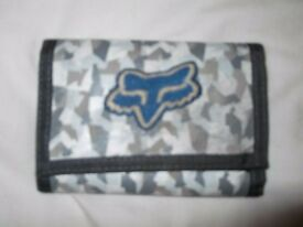 Surfer FOX Velcro Men's Wallet