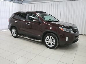 2015 Kia Sorento EX GDI AWD. HIGH TRIM SUV LOADED WITH FEATURES